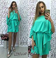 Женское Платье широкое с поясом