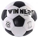 Мяч кожаный Winner Classic, фото 5