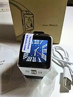 Smart Watch DZ09 (SIM, microSD, камера, браузер)