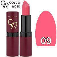 Губная помада матовая Golden Rose Velvet Matte Lipstick Тон 09 Pink Rose
