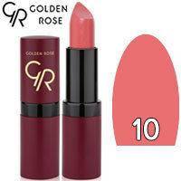 Губная помада матовая Golden Rose Velvet Matte Lipstick Тон 10 Pink Natural