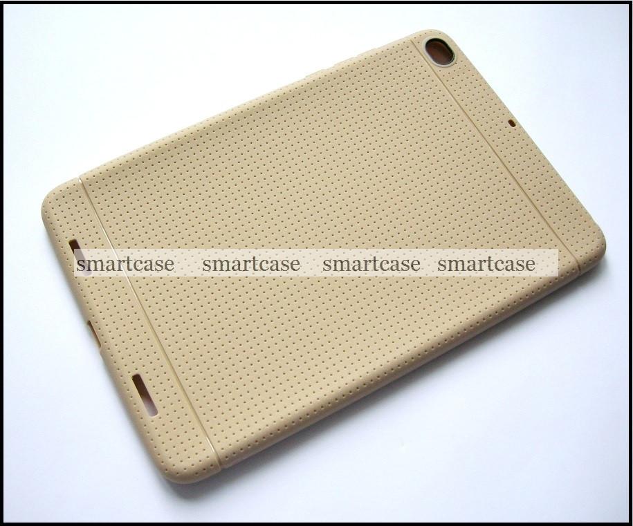 Золотой противоударный матовый TPU бампер чехол для Xiaomi Mipad 2, mi pad 2