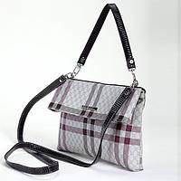 Женская сумка клатч Dolly 142 бежевый молодежный 25 см х 17 см х 5 см
