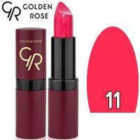 Губная помада матовая Golden Rose Velvet Matte Lipstick Тон 11 Magenta