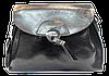 Женская сумочка из натуральной кожи черного цвета через плечо NCE-040065