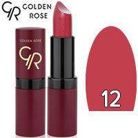 Губная помада матовая Golden Rose Velvet Matte Lipstick Тон 12 Light Plum