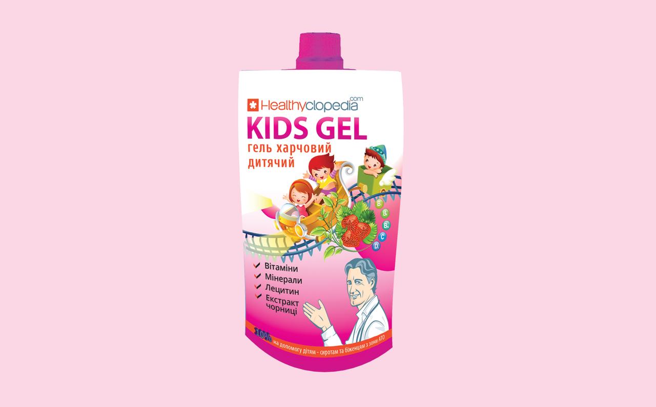 Гель пищевой Kids Gel 120 мл /Хелсиклопедия/