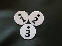 Номерок для ключей круглый, фото 1