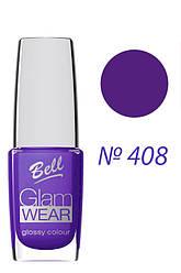 Bell Лак для ногтей - Glam Wear - №408  10 мл Оригинал