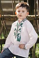 Вышиванка для мальчика с длинным рукавом., фото 1