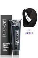 Black - Краска - Sintesis Color Creme - Профессиональная № 1.0 - черный