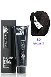 Black Sintesis Color Creme  Краска для волос  1.0 черный 100 мл Код 8512