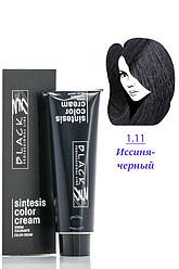 Black Sintesis Color Creme  Краска для волос  1.11 иссиня черный 100 мл Код 8554