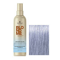 Instant Blush Steel Blue - Окрашивающий спрей для волос стальной-синий, 250 мл
