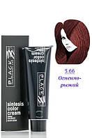 Black - Краска - Sintesis Color Creme - Профессиональная № 5.66 - огненно-рыжий  100 мл