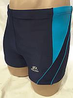 Шорты-плавки мужские синий  0419 идут на наши  48 50 52 54  размеры