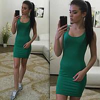 Женское Платье-Майка мини