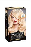 Loreal  Recital Preference  краска для волос  01  светло светло русый натуральный 40 мл Код 2691