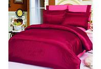 Комплект двуспального постельного белья Le Vele Jakaranda Burgund (Джакаранда Бургунди)