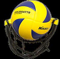 Мяч тренировочный волейбольный на растяжках Mikasa MVA300ATTR