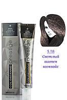 Brelil Colorianne Prestige Краска для волос 5/18 светлый ледяной шоколад 100 мл Код 19376