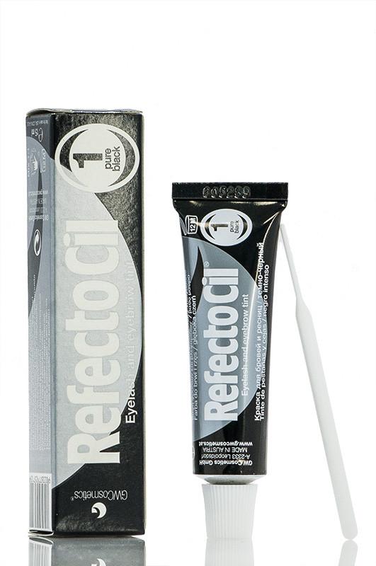 Refectocil Augenbrauen und Wimpernfarbe Фарба для брів і вій 1 чорна