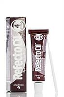 Refectocil - Краска - для бровей и ресниц - №4 - каштан