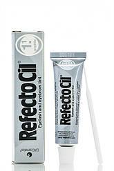 Refectocil Краска для бровей и ресниц №1.1 графит 15 мл Код 15429