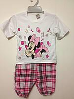 Детская одежда оптом Комплект для девочек Мини оптом р.1-3лет