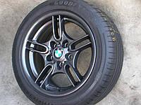 Б у титановые диски R17 BMW E39 E60 M5 5X120 с летними шинами GOODYEAR 225x50x17