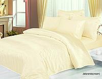 Комплект двуспального постельного белья Le Vele Jakaranda Cream (Джакаранда Крем)