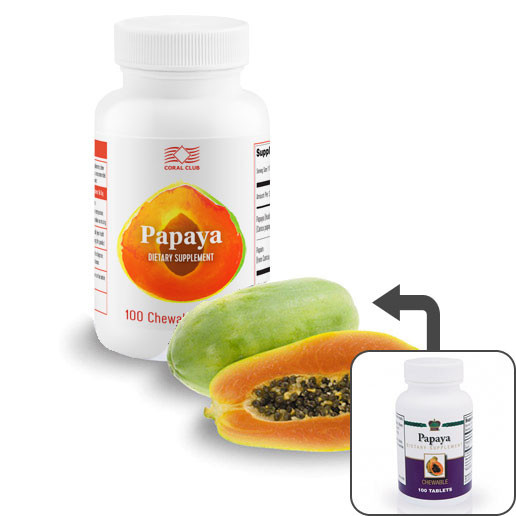 Папайя  ( 100 таблеток)