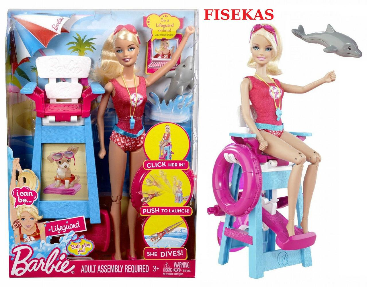 "Лялька Barbie серії ""Я можу бути"" рятувальник / Barbie I Can Be Lifeguard playset"