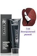 Black - Краска - Sintesis Color Creme - Профессиональная № 7.64 - венецианский рыжий  100 мл