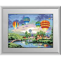 Воздушные шары. Dream Art. Набор алмазной живописи (квадратные, полная)