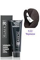 Black - Краска - Sintesis Color Creme - Профессиональная № 4.22 - черника  100 мл