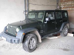 Фаркоп на Jeep Grand Wrangler 03/2006-
