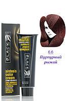 Black Proff - Крем - краска без аммиака - №6.6 - пурпурный рыжий