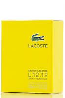 Туалетная вода Lacoste Eau de LACOSTE L.12.12 Yellow (Jaune) для мужчин 100 мл