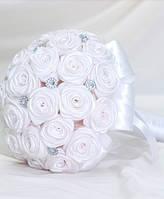 Свадебный Брошь-букет Белый