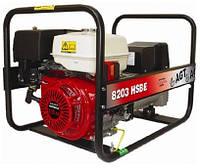 3х фазный бензиновый генератор AGT 8203 HSBE (16 л)