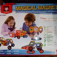 Детский магнитный конструктор на 168 деталей 7168 А
