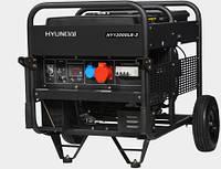 Трехфазный бензиновый генератор Hyundai HY 12000LE-3