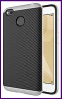 Чехол, бампер iPaky для смартфона Xiaomi redmi 4x/4x pro (SILVER)