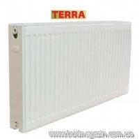 Радиатор стальной Terra 22тип (боковое подключение) 500х2000 мм