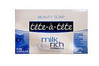 Мыло Tete-a-Tete (Тете-а-тете) milr rich formula Pure & Delicate 100 г