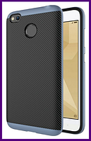Чехол, бампер iPaky для смартфона Xiaomi redmi 4x/4x pro (GREY)