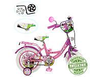 Детский двухколесный велосипед PROFI, колеса 12 дюймов P 1242A (зеленый)
