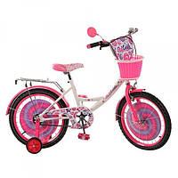 Детский двухколесный велосипед 14 дюймов Profi P 1443A (синий)
