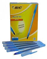 """Ручка шариковая BIC """"Round Stick"""" 1мм синяя 893212"""